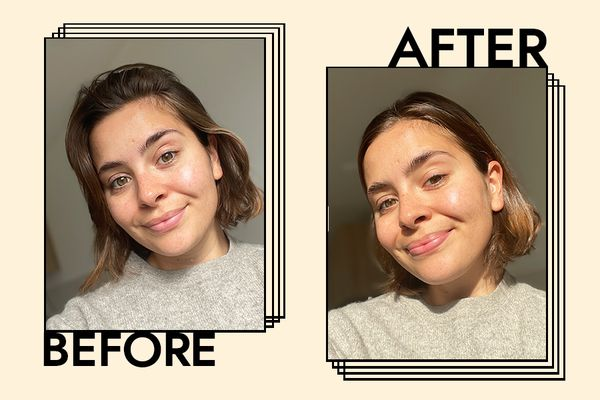 It Cosmetics Confidence in a Cleanser Results on Emily Algar