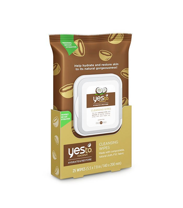 Yes to Coconut Wipes - best skincare products
