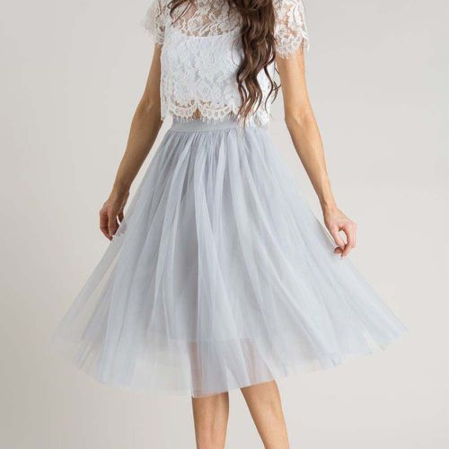 Eloise Tulle Midi Skirt ($66.99)