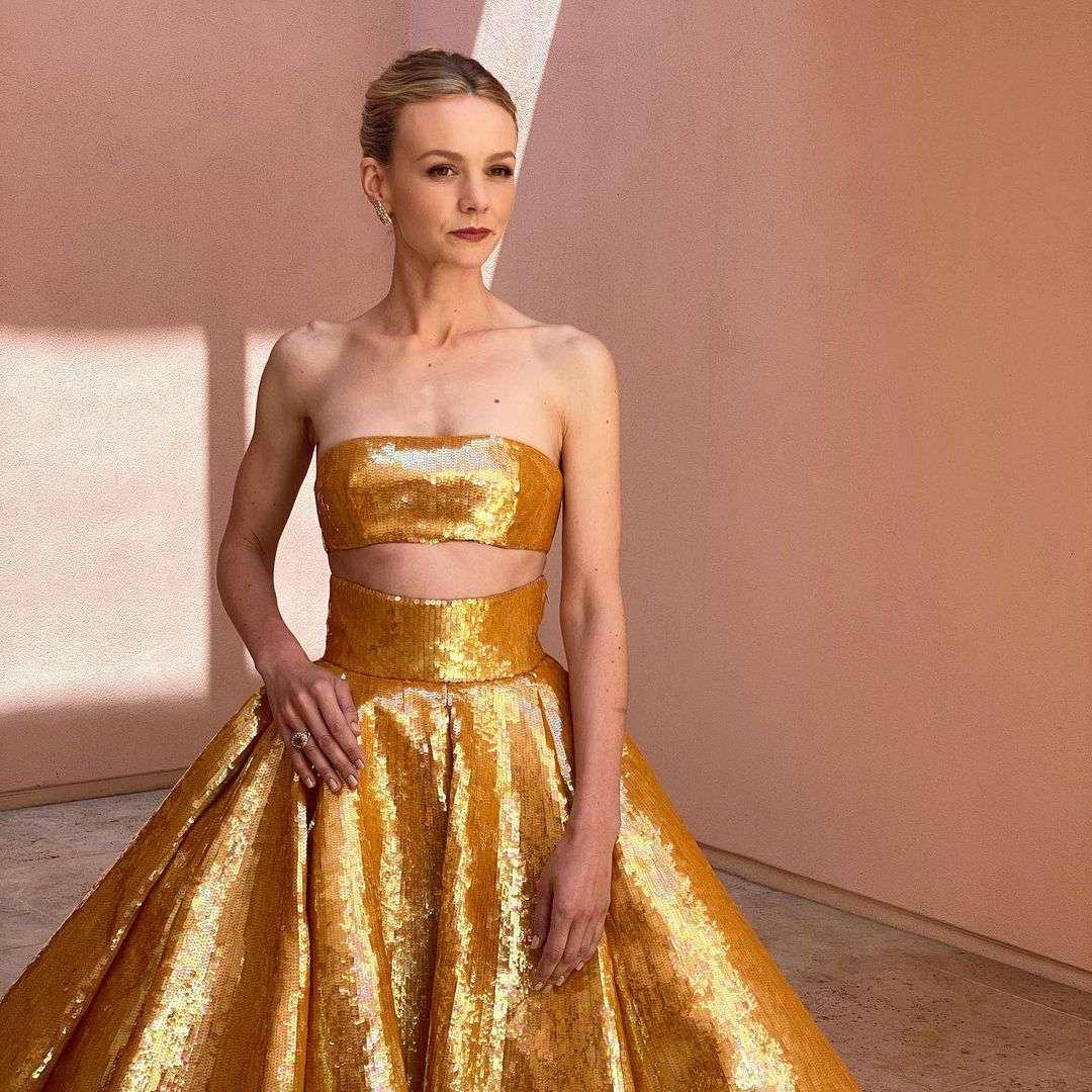 Carey Mulligan at 2021 Oscars