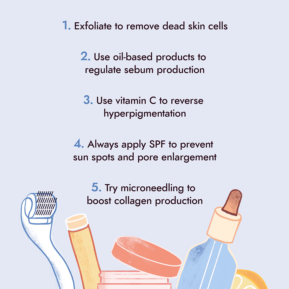How to fix uneven skin texture
