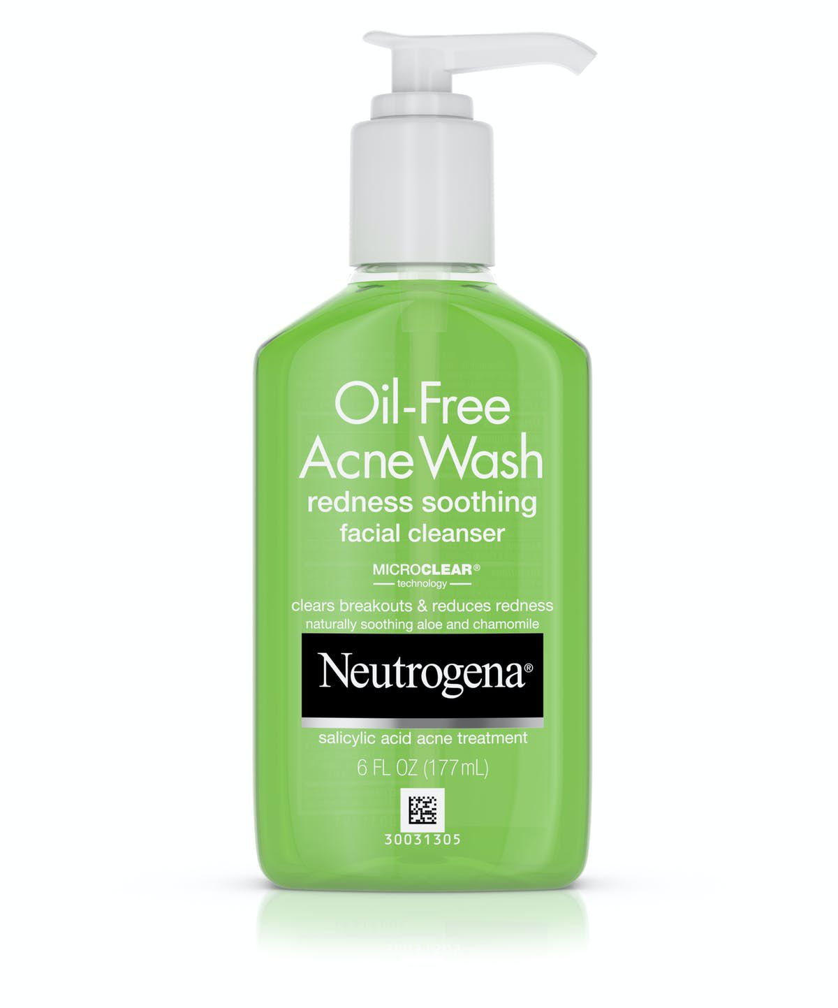 Neutrogena Oil-Free Acne Wash Redness Soothing Cleanser