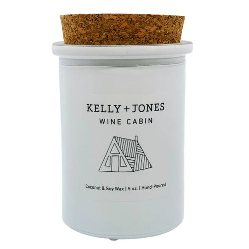 Kelly + Jones Wine Cabin Candle