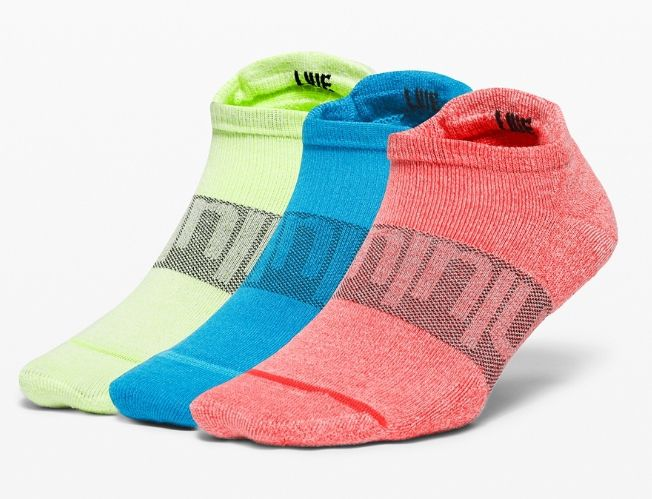 Lululemon Daily Stride Low Ankle Sock