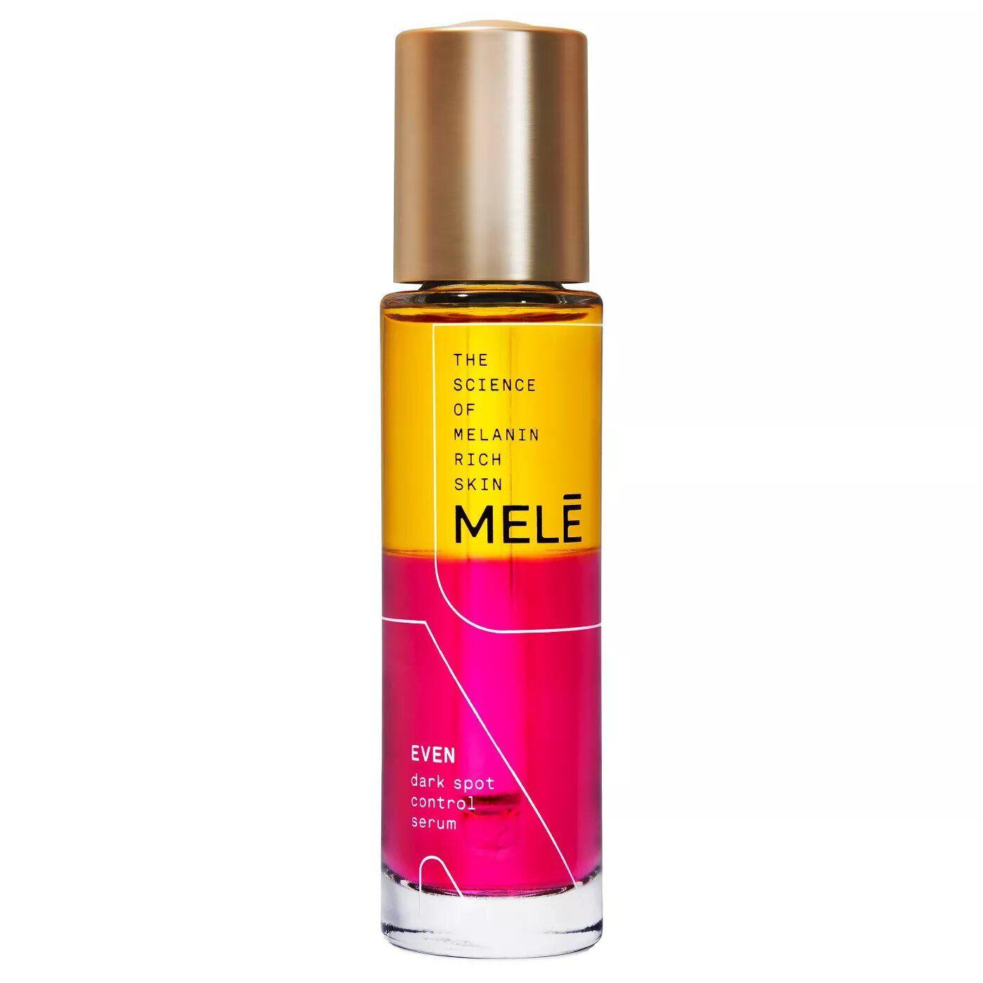 MELE Even Dark Spot Control Facial Serum for Melanin Rich Skin
