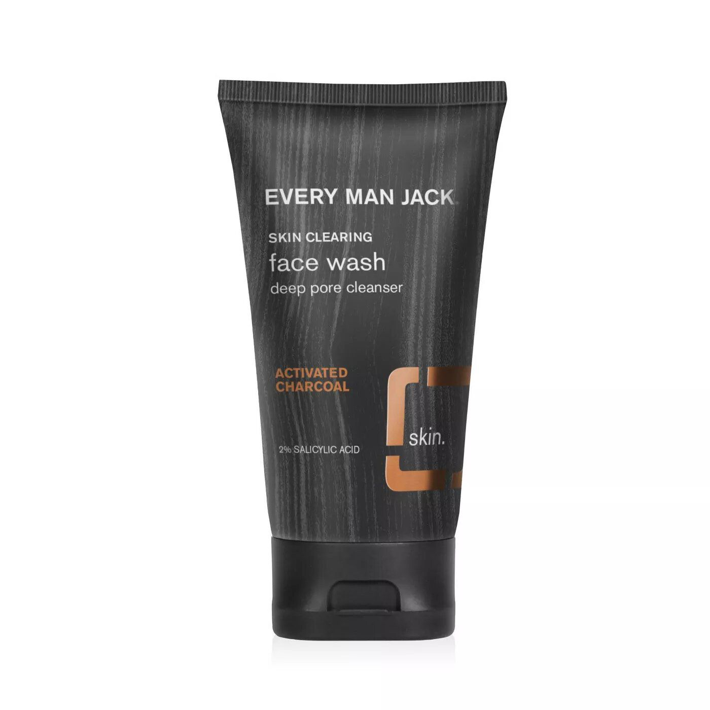 Every Man Jack Skin Clearing Activated Charcoal Face Wash