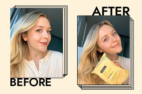 Holly Before and After Using Neutrogena